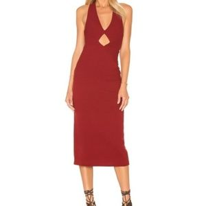NWT Free People Knit Midi Dress